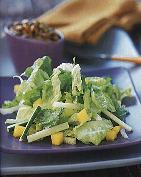 Mango Jicama Chopped Salad