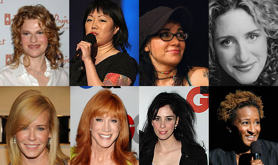 Who Is Your Favorite Female Standup Comedian of 2008?