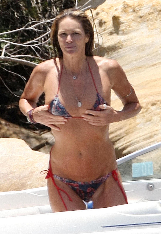 Elle Macpherson Bikini Photos In Australia Popsugar