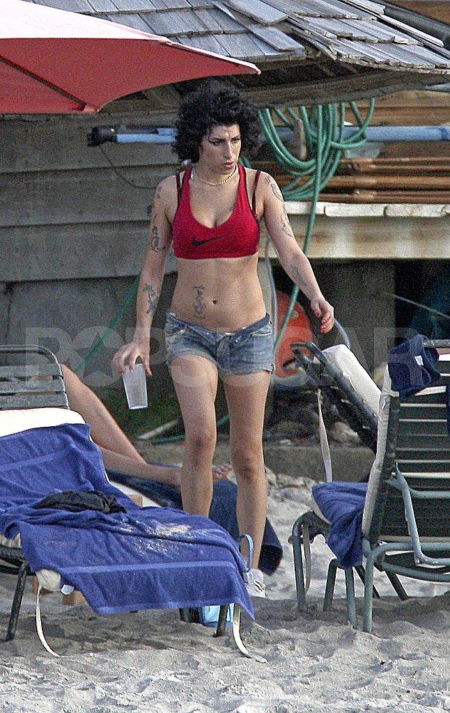 Amy Still On The Beach