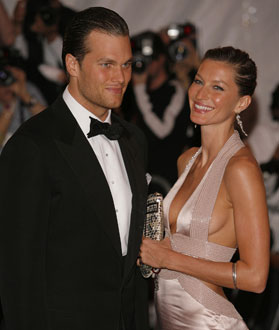 Photo of Tom Brady and Gisele Bundchen Who Are Recently Engaged