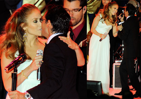 Photos of Jennifer Lopez and Marc Anthony at Western Inaugural Ball with Barack and Michelle Obama