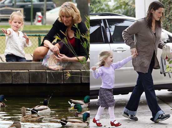 Violet Introduces Grandma to Ducks and New Baby Seraphina