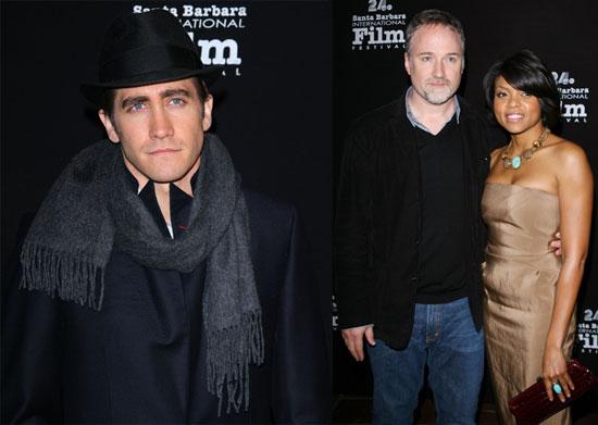 Photos of Jake Gyllenhaal, David Fincher, Taraji Henson at Santa Barbara Film Festival