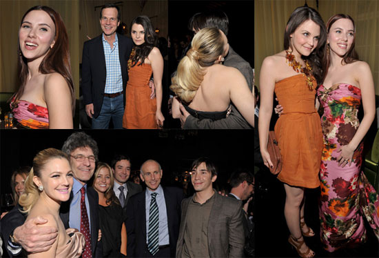 Photos of Drew Barrymore, Justin Long, Ginnifer Goodwin, and Scarlett Johansson at the He's Just Not That Into You Afterparty