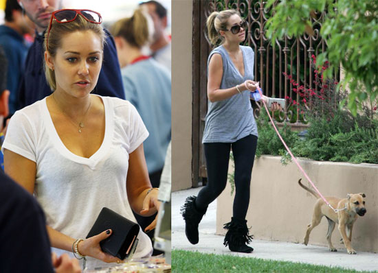 The Hills' Lauren Conrad Out in LA
