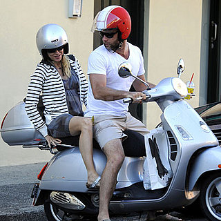 Naomi Watts and Liev Schreiber Scoot in Sydney