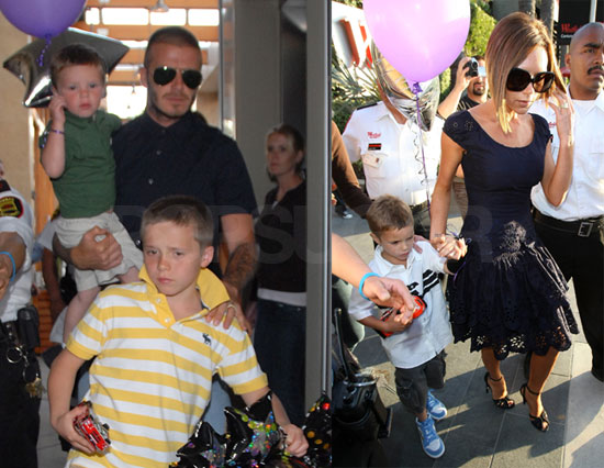 Posh Celebrates 34 With Her Four Favorite Boys
