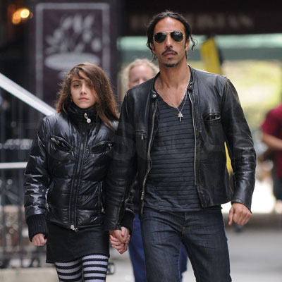 Lourdes and Carlos Leon Out in NYC