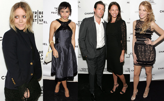 Chanel Goes to Tribeca and Gorgeous Starlets Follow