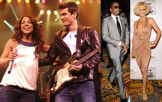 Photos of MGM Grand Opening at Foxwoods with John Mayer, Alicia Keys, Diddy, Jenny McCarthy