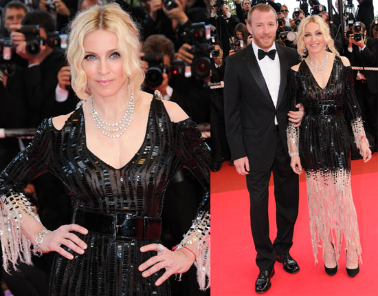 """Madonna and Guy Ritchie At The Premiere Of """"I Am Because We Are"""" At The 2008 Cannes Film Festival"""