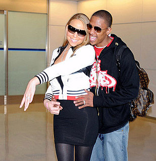 Mariah Carey and Nick Cannon Arrive in Tokyo