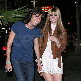 Mischa Barton and Taylor Locke Out in LA