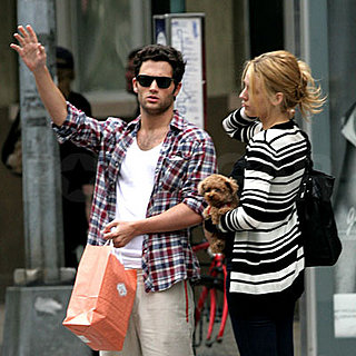 Blake Lively and Penn Badgley Out in NYC