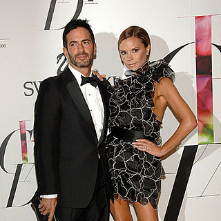 Marc Jacobs and Victoria Beckham at the CFDA Awards in NYC