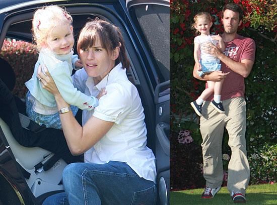 Photos of Celebrity Baby Violet Affleck With Jennifer Garner and Ben Affleck in LA