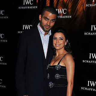 Eva Longoria and Tony Parker at Zinedine Zidane's Party
