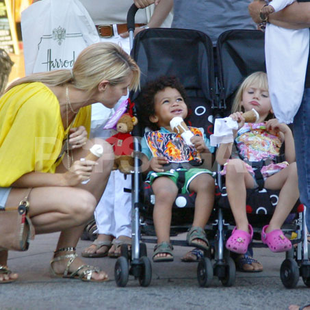 Heidi Klum and Her Family in NYC