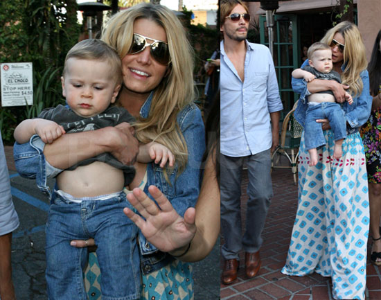 Photos of Jessica Simpson and Baby
