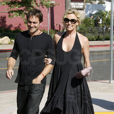 Charlize Theron and Stuart Townsend Out in Malibu