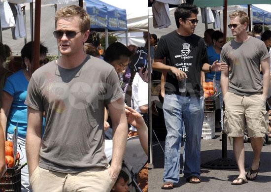 Photos of Neil Patrick Harris and Boyfriend David Burka in LA