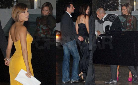 Photos of Victoria Beckham, David Beckham, Eva Longoria, Tony Parker, Len Wiseman, Dustin Hoffman at Kate Beckinsale's Birthday
