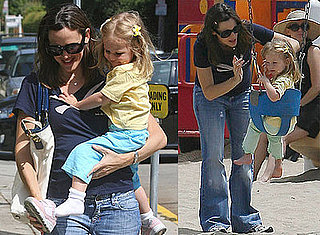 Photos of Rumored Pregnant Jennifer Garner and Violet Affleck