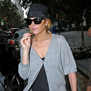 Lindsay Lohan Out in NYC 2008-07-23 22:16:21