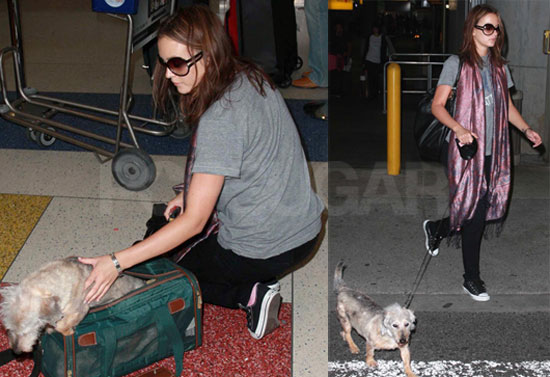Photos of Leighton Meester With Her Dog; She Recently Spoke at Teen Choice Awards About Gossip Girl