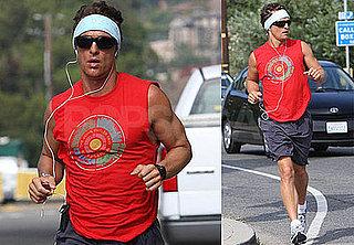 Photos of Matthew McConaughey Running in LA