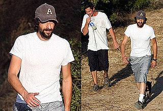 Photos of Adrien Brody and Simon Rex Hiking in LA