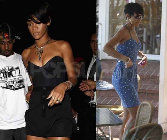 Photos of Rihanna Shopping and Clubbing in LA