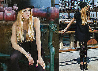Lindsay Lohan Explores Her Style