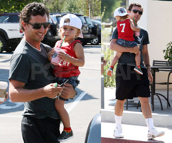 Photos of Celebrity Baby Kingston Rossdale With Dad Gavin Rossdale