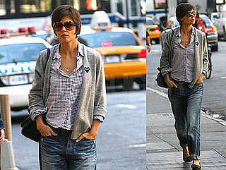 Photos of Katie Holmes Going to Rehearsal in NYC