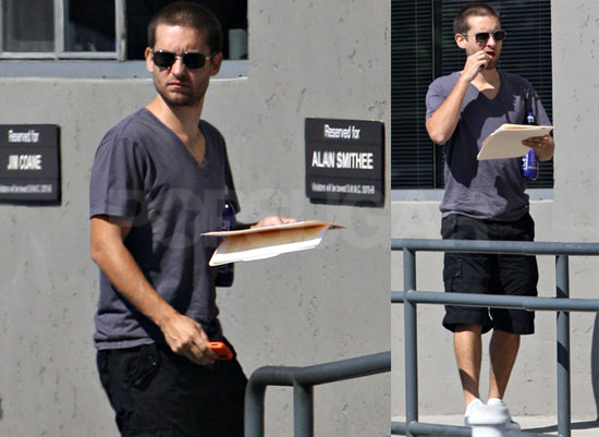 Photos of Tobey Maguire in Santa Monica