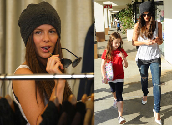 Photos of Kate Beckinsale Out in LA With Her Daughter