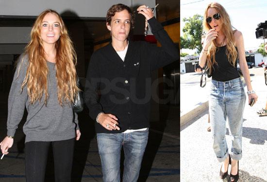 Photos of Lindsay Lohan and Samantha Ronson at the Movies in Los Angeles