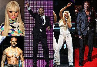 Photos of Christina Aguilera Performing, Seal Performing at Africa Rising Festival