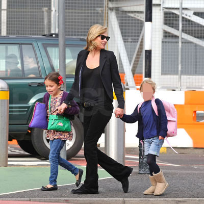 Kate Moss Out in London With Daughter Lila