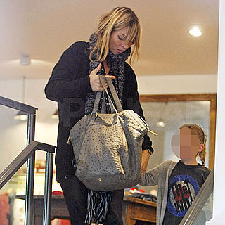 Kate Moss and Lila Hack Out Shopping in London