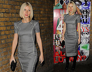 Photos of Gwyneth at a Private Viewing of Rumble in the Jumble in London