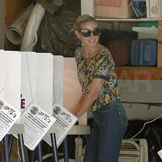 Check Out All the Celebrity Voters!