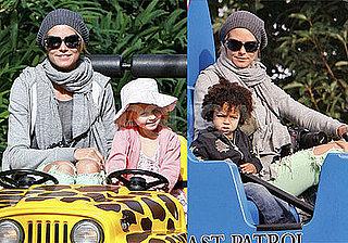 Photos of Heidi Klum, Leni Klum, Johan Samuel on His Second Birthday in Legoland