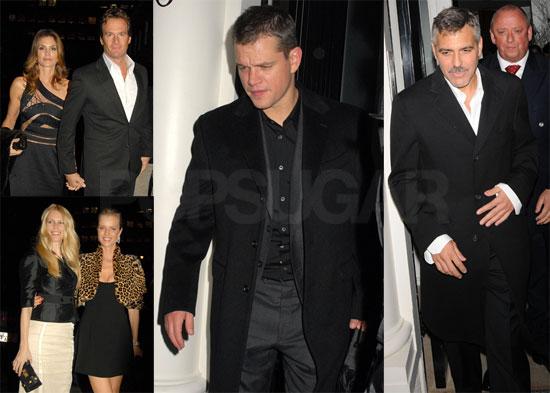 Photos of George Clooney, Matt Damon, Bono, Cindy Crawford, Scarlett Johansson, Eva Mendes, Guy Ritchie at Fundraiser For Darfur