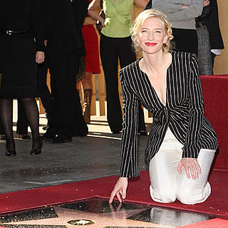 Cate Blanchett Gets a Star on the Hollywood Walk of Fame