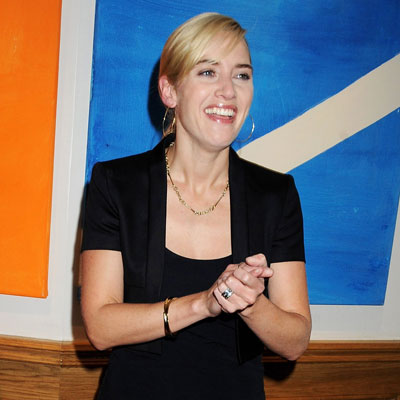 Photo of Golden Globe Nominee Kate Winslet at The Reader Private Screening