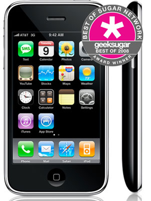 iPhone 3G Wins as Your Favorite New Cell Phone of 2008