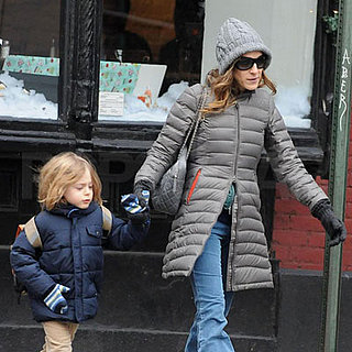Sarah Jessica Parker and James Wilkie Broderick Out in NYC